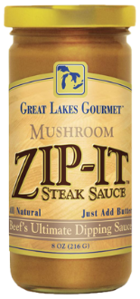 Mushroom Zip-It Steak Sauce 8oz