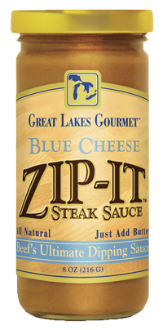 Blue Cheese Zip-It Steak Sauce 8oz